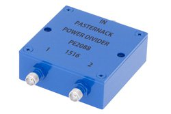 2 Way SMA Wilkinson Power Divider From 690 MHz to 2.7 GHz Rated at 10 Watts