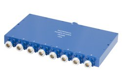 50 Ohm 8 Way N Wilkinson Power Divider From 690 MHz to 2.7 GHz Rated at 10 Watts