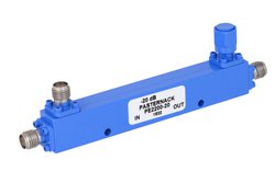 Directional 20 dB SMA Coupler From 500 MHz to 1,000 MHz Rated to 50 Watts