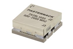 50 Ohm to 25 Ohm Balun From 500 MHz to 2 GHz Up to 100 Watts Surface Mount(SMT)