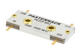 90 Degree Drop-In Hybrid Coupler From 1 GHz to 3 GHz Rated to 150 Watts
