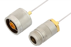 N Male to N Female Cable Using PE-SR047AL Coax