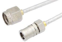 PE34764 - SMA Male to SMB Plug Cable Using PE-SR405FL Coax