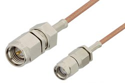 SMA Male to Reverse Polarity SMA Male Cable Using RG178 Coax