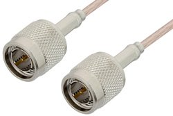 PE35360 - 75 Ohm TNC Male to 75 Ohm TNC Male Cable Using 75 Ohm RG179 Coax
