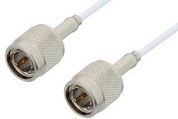 PE35364LF - 75 Ohm TNC Male to 75 Ohm TNC Male Cable Using 75 Ohm RG187 Coax, RoHS
