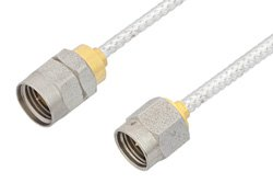 2.92mm Male to 1.85mm Male Cable Using PE-SR405FL Coax