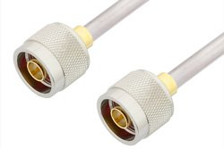 N Male to N Male Cable Using PE-SR401AL Coax