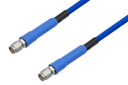 PE-TC195 Series Phase Stable Test Cable SMA Male to SMA Male to 27 GHz  ,RoHS