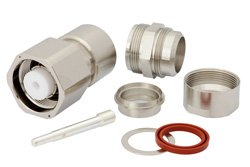 PE4323 - LC Male Connector Clamp/Solder Attachment for RG218, RG219, RG17