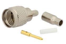 PE44090 - Mini UHF Male Connector Crimp/Solder Attachment For RG174, RG316, RG188