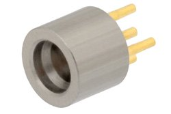 SMP Male Connector Solder Attachment Thru Hole PCB, Up To 8GHz