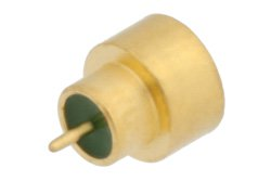 SMP Male Hermetically Sealed Connector Solder Attachment Thru Hole PCB, Up To 8GHz