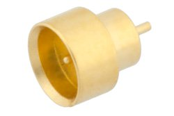 SMP Male Limited Detent Hermetically Sealed Connector Solder Attachment Solder Mount Pin Terminal .050 inch Pin Length