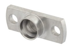 SMP Male Full Detent Shroud 2 Hole Flange Mount 0.354 Inch Hole Spacing