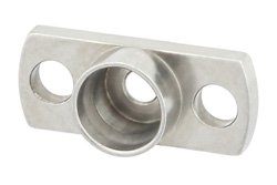 SMP Male Limited Detent Shroud 2 Hole Flange Mount 0.282 Inch Hole Spacing