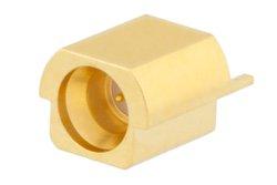 Mini SMP Male Precision Full Detent Connector Solder Attachment Edge Launch PCB
