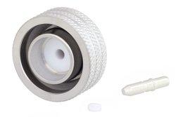 4.3-10 Male Low PIM Push-On Connector Solder Attachment for RG402, PE-SR402AL, PE-SR402FL, PE-SR402FLJ, IP67 Rated