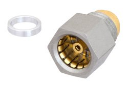 BMA Jack Hermetically Sealed Connector Solder Attachment Stub Terminal