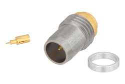 BMA Plug Slide-On Hermetically Sealed Thread-In Mount, With Auxiliary Contact