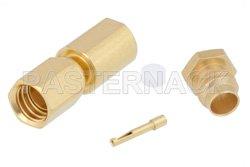 PE45365 - SSMC Plug Connector Clamp/Solder Attachment for PE-SR405AL, PE-SR405FL, PE-SR405FLJ, PE-SR405TN, RG405