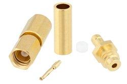 PE45490 - SSMC Plug Connector Crimp/Solder Attachment for RG178, RG196