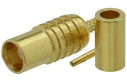 MCX Jack Connector Crimp/Solder Attachment for RG178, RG196
