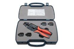 PE5004-KIT - Crimp Tool Kit With Hex Bit For RG6, RG8, RG11, RG58, RG59, RG174, RG179, RG213, RG223, RG316, RG400