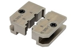 PE5010-2 - Crimp Tool Die With 0.128, 0.100 Size Hex Bit For Cable Type Works With PE5008 and PE5009