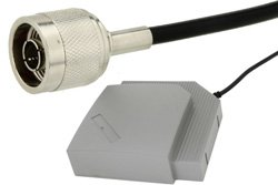 Panel Antenna Operates From 2.3 GHz to 2.5 GHz With a Nominal 9 dBi Gain N Male Input Connector on 1 ft. of RG58