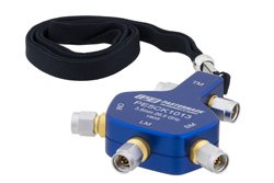3.5mm Male Short Open Load Thru (SOLT) Analyzer Calibration Kit, portable 4-in-1, Operating from DC to 26.5 GHz