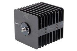 PE6038 - 25 Watt RF Load Up to 18 GHz With SMA Female Input Square Body Black Anodized Aluminum Heatsink