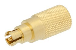 0.25 Watt RF Load Up to 18 GHz with Mini SMP Female Push-On Gold Plated Beryllium Copper