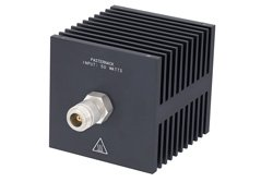 Medium Power 50 Watt RF Load Up to 18 GHz with N Female
