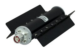 PE6TR1028 - 60 Watt RF Load Up to 2.7 GHz with N Male Black Anodized Aluminum
