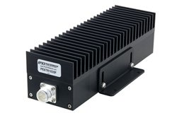 PE6TR1035F - High Power 100 Watt RF Load Up to 2.7 GHz with 4.3-10 Female Black Anodized Aluminum