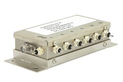 PE7011-6A - 63 dB With 6 Bit Programmable Attenuator, SMA Female to SMA Female, 1 dB Steps Rated to 0.5 Watts Up to 1,000 MHz