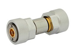 20 dB Fixed Attenuator, 7mm Sexless To 7mm Sexless Passivated Stainless Steel Body Rated To 2 Watts Up To 18 GHz