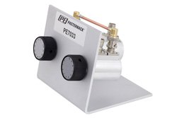 PE7033 - 110dB Step Attenuator, BNC Female To BNC Female Aluminum Body With 1dB Step Rated To 1 Watt Up To 2000 MHz