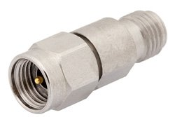 20 dB Fixed Attenuator, 2.92mm Male to 2.92mm Female Passivated Stainless Steel Body Rated to 1 Watt Up to 40 GHz