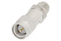 20 dB Fixed Attenuator, SMA Male to SMA Female Passivated Stainless Steel Body Rated to 2 Watts Up to 18 GHz