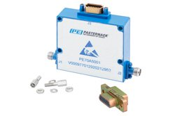 PE70A5001 - 5 Bit TTL Controlled Programmable Attenuator, 30 dB, from 100 MHz to 18 GHz, 1 dB Steps, 2.92mm Female