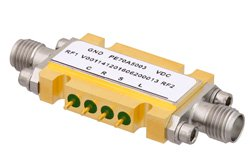 PE70A5003 - 6 Bit CMOS Controlled Programmable Attenuator, 31.5 dB Up to 13 GHz, 0.5 dB Steps, SMA Female