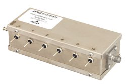PE70A8001 - 6 Bit Relay Controlled Programmable Attenuator, 31.5 dB Up to 1,000 MHz, 0.5 dB Steps, +12V, SMA Female