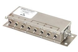 PE70A8005 - 8 Bit Relay Controlled Programmable Attenuator, 127 dB Up to 1.5 GHz, 1 dB Steps, +12V, SMA Female
