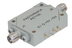SMA SPST PIN Diode Switch Operating From 1 GHz to 2 GHz Up To +30 dBm
