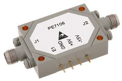 SMA SPST PIN Diode Switch Operating From 1 GHz to 18 GHz Up To +27 dBm