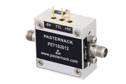 Absorptive SPST PIN Diode Switch Operating From 50 MHz to 40 GHz Up to +30 dBm and 2.92mm