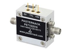 Absorptive SPST PIN Diode Switch Operating From 2 GHz to 26.5 GHz Up to +30 dBm and SMA