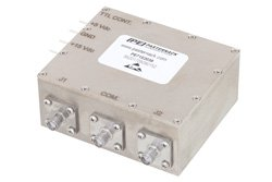 SPDT PIN Diode Switch Operating From 20 MHz to 500 MHz Up to 150 Watts (+51.8 dBm) and SMA
